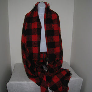 Buffalo Plaid Blanket Scarf  Altar'd State